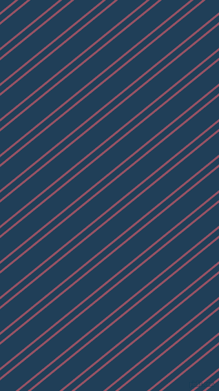 39 degree angle dual striped line, 3 pixel line width, 8 and 26 pixel line spacing, Vin Rouge and Regal Blue dual two line striped seamless tileable