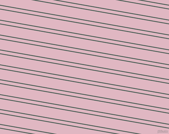 170 degree angles dual striped line, 3 pixel line width, 10 and 35 pixels line spacing, Viridian Green and Melanie dual two line striped seamless tileable