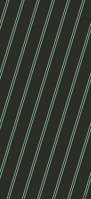73 degree angle dual stripes lines, 2 pixel lines width, 4 and 40 pixel line spacing, Vista Blue and Marshland dual two line striped seamless tileable