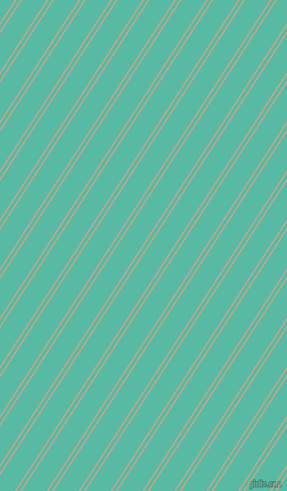 57 degree angles dual stripe lines, 1 pixel lines width, 4 and 24 pixels line spacing, Vivid Tangerine and Puerto Rico dual two line striped seamless tileable