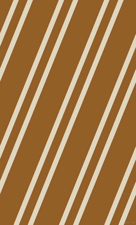 68 degree angle dual striped lines, 17 pixel lines width, 28 and 82 pixel line spacing, Wheatfield and Afghan Tan dual two line striped seamless tileable