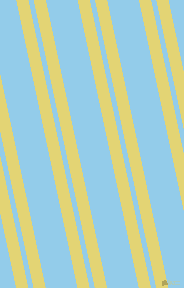 102 degree angles dual stripes lines, 24 pixel lines width, 10 and 62 pixels line spacing, Wild Rice and Cornflower dual two line striped seamless tileable