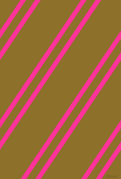 56 degree angles dual stripe line, 15 pixel line width, 24 and 108 pixels line spacing, Wild Strawberry and Corn Harvest dual two line striped seamless tileable