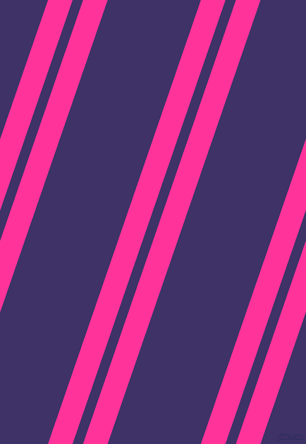 71 degree angle dual striped line, 33 pixel line width, 14 and 125 pixel line spacing, Wild Strawberry and Minsk dual two line striped seamless tileable