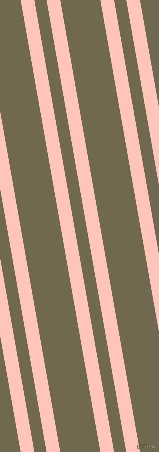 100 degree angle dual stripe line, 27 pixel line width, 24 and 79 pixel line spacing, Your Pink and Crocodile dual two line striped seamless tileable