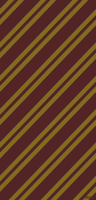 46 degree angle dual stripe line, 14 pixel line width, 10 and 39 pixel line spacing, Yukon Gold and Lonestar dual two line striped seamless tileable