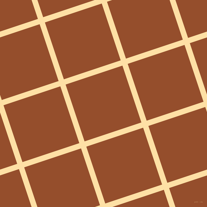 18/108 degree angle diagonal checkered chequered lines, 23 pixel lines width, 248 pixel square size, plaid checkered seamless tileable