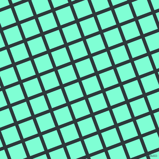 21/111 degree angle diagonal checkered chequered lines, 11 pixel line width, 50 pixel square size, plaid checkered seamless tileable
