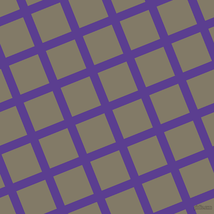 22/112 degree angle diagonal checkered chequered lines, 17 pixel lines width, 62 pixel square size, plaid checkered seamless tileable