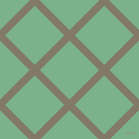 45/135 degree angle diagonal checkered chequered lines, 26 pixel lines width, 147 pixel square size, plaid checkered seamless tileable