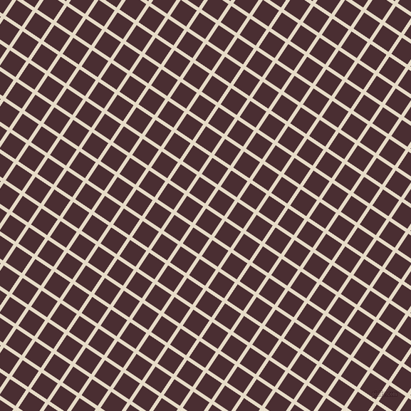 56/146 degree angle diagonal checkered chequered lines, 5 pixel line width, 27 pixel square size, plaid checkered seamless tileable