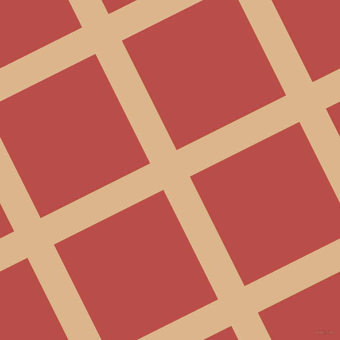 27/117 degree angle diagonal checkered chequered lines, 61 pixel line width, 252 pixel square size, plaid checkered seamless tileable