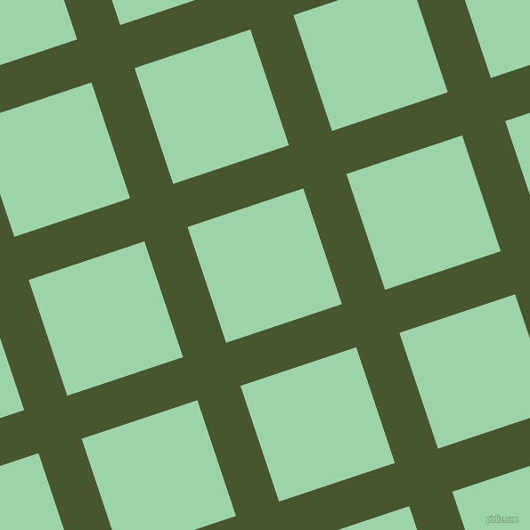 18/108 degree angle diagonal checkered chequered lines, 51 pixel lines width, 137 pixel square size, plaid checkered seamless tileable