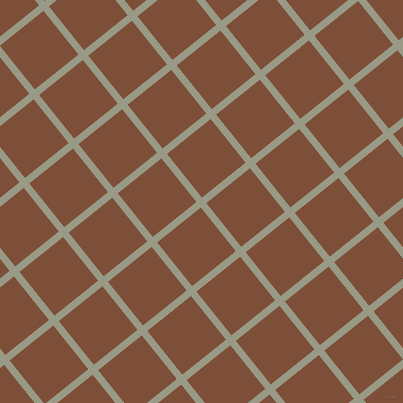 39/129 degree angle diagonal checkered chequered lines, 14 pixel line width, 111 pixel square size, plaid checkered seamless tileable