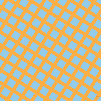 58/148 degree angle diagonal checkered chequered lines, 14 pixel line width, 30 pixel square size, plaid checkered seamless tileable
