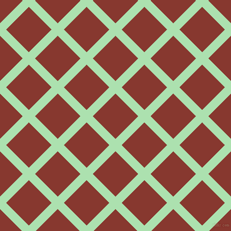 45/135 degree angle diagonal checkered chequered lines, 18 pixel lines width, 66 pixel square size, plaid checkered seamless tileable