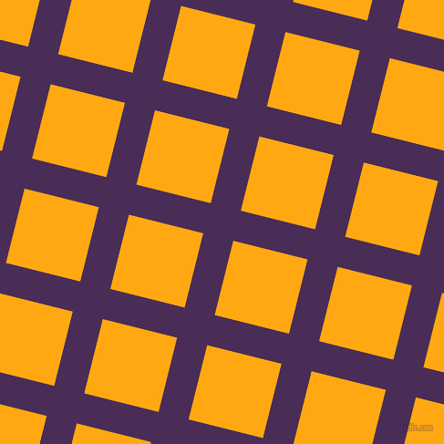 76/166 degree angle diagonal checkered chequered lines, 34 pixel lines width, 84 pixel square size, plaid checkered seamless tileable