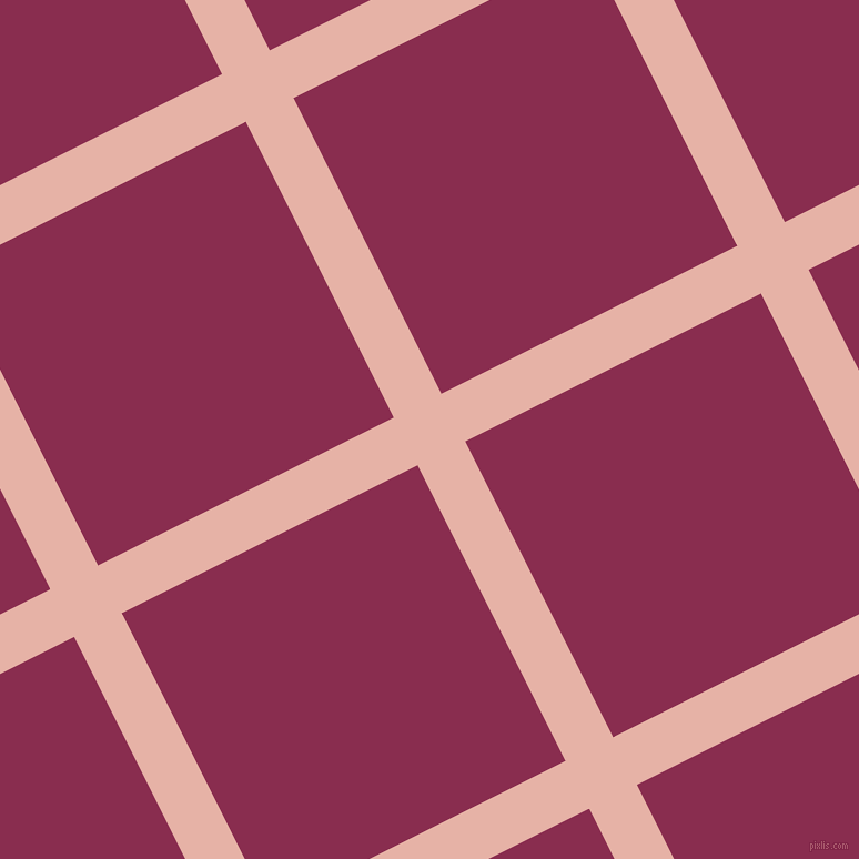 27/117 degree angle diagonal checkered chequered lines, 48 pixel line width, 298 pixel square size, plaid checkered seamless tileable