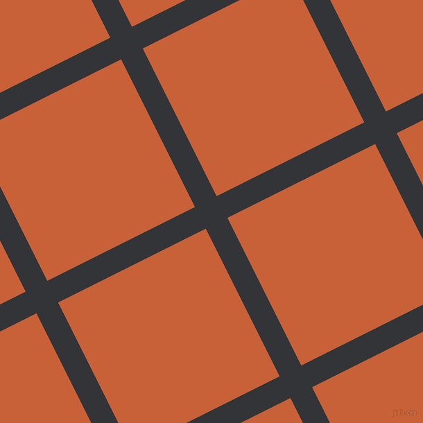 27/117 degree angle diagonal checkered chequered lines, 35 pixel lines width, 238 pixel square size, plaid checkered seamless tileable