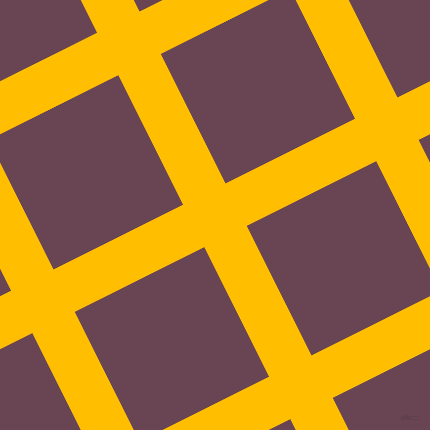 27/117 degree angle diagonal checkered chequered lines, 96 pixel lines width, 293 pixel square size, plaid checkered seamless tileable