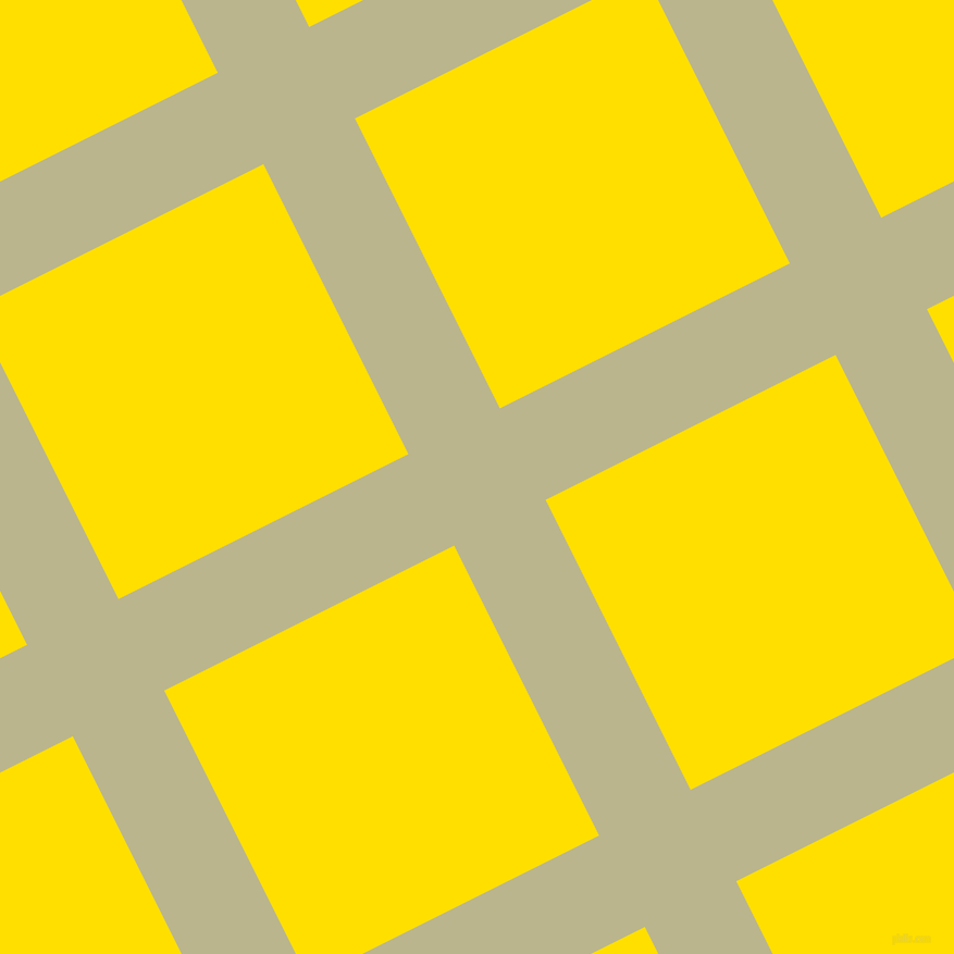 27/117 degree angle diagonal checkered chequered lines, 94 pixel line width, 298 pixel square size, plaid checkered seamless tileable