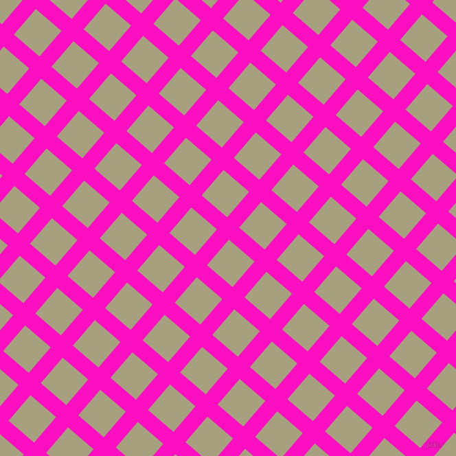 49/139 degree angle diagonal checkered chequered lines, 23 pixel lines width, 49 pixel square size, plaid checkered seamless tileable