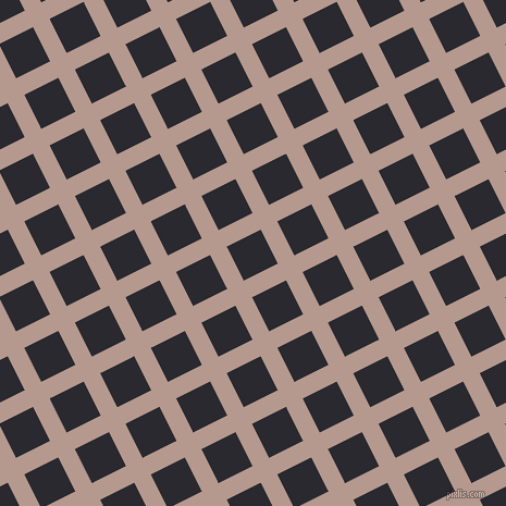 27/117 degree angle diagonal checkered chequered lines, 17 pixel lines width, 35 pixel square size, plaid checkered seamless tileable