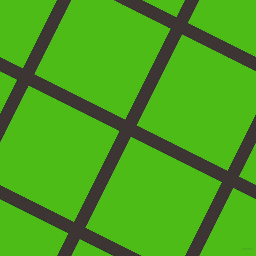 63/153 degree angle diagonal checkered chequered lines, 44 pixel lines width, 353 pixel square size, plaid checkered seamless tileable
