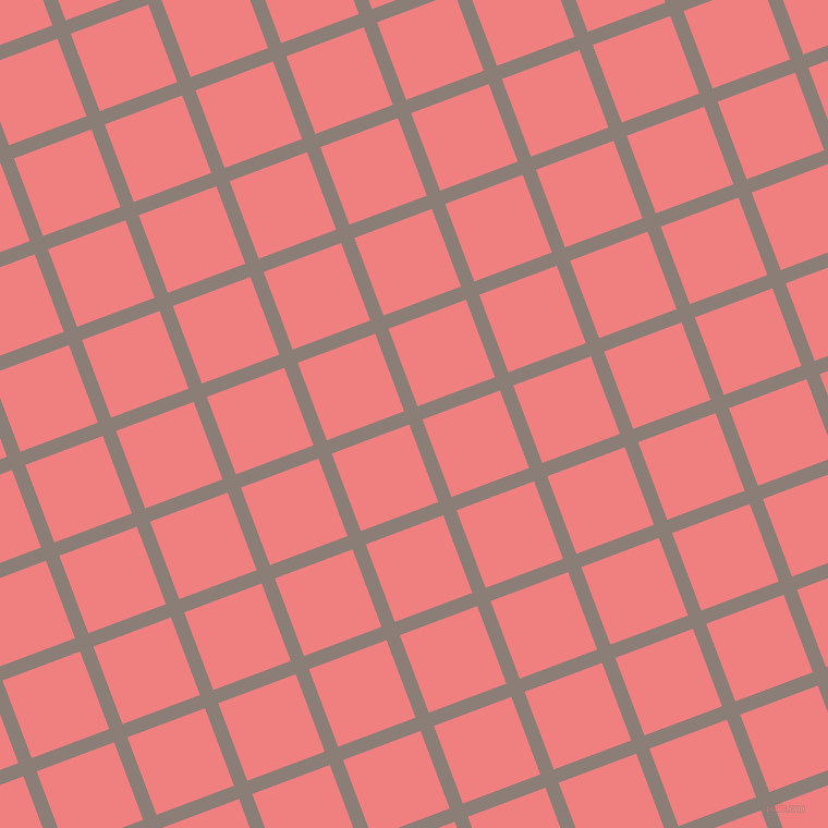 21/111 degree angle diagonal checkered chequered lines, 13 pixel lines width, 76 pixel square size, plaid checkered seamless tileable