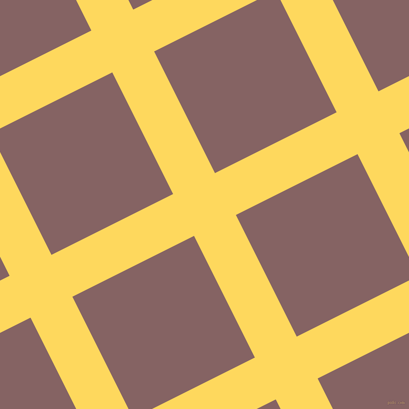 27/117 degree angle diagonal checkered chequered lines, 95 pixel lines width, 276 pixel square size, plaid checkered seamless tileable