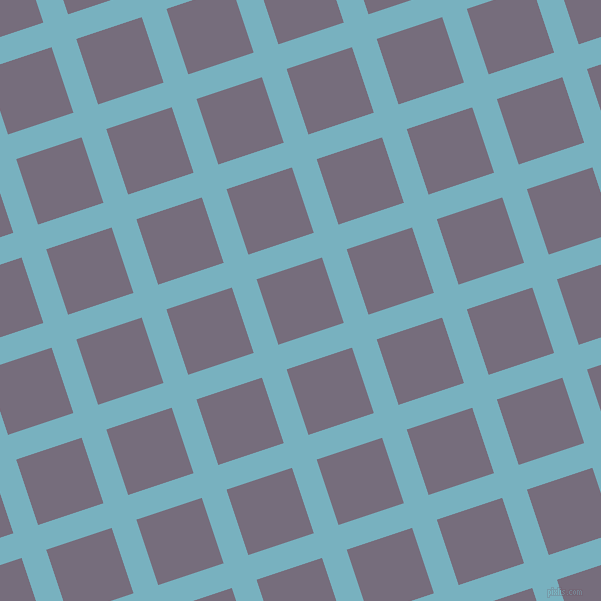 18/108 degree angle diagonal checkered chequered lines, 26 pixel lines width, 69 pixel square size, plaid checkered seamless tileable