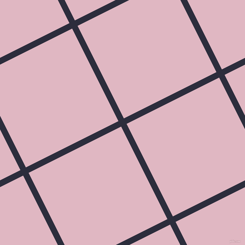 27/117 degree angle diagonal checkered chequered lines, 20 pixel lines width, 340 pixel square size, plaid checkered seamless tileable