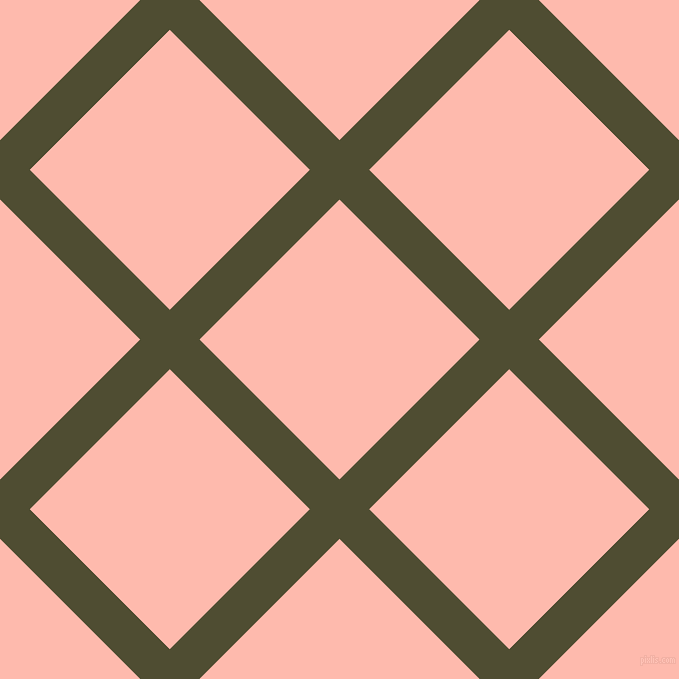 45/135 degree angle diagonal checkered chequered lines, 42 pixel lines width, 198 pixel square size, plaid checkered seamless tileable