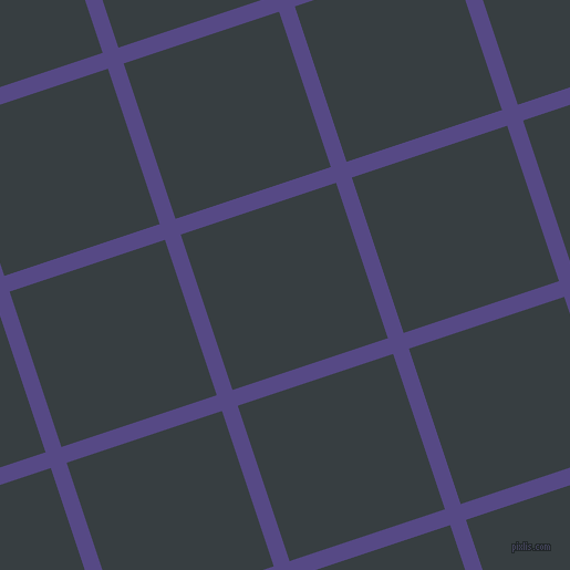 18/108 degree angle diagonal checkered chequered lines, 15 pixel line width, 148 pixel square size, plaid checkered seamless tileable