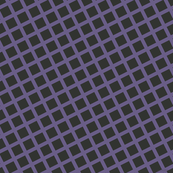 27/117 degree angle diagonal checkered chequered lines, 12 pixel line width, 31 pixel square size, plaid checkered seamless tileable