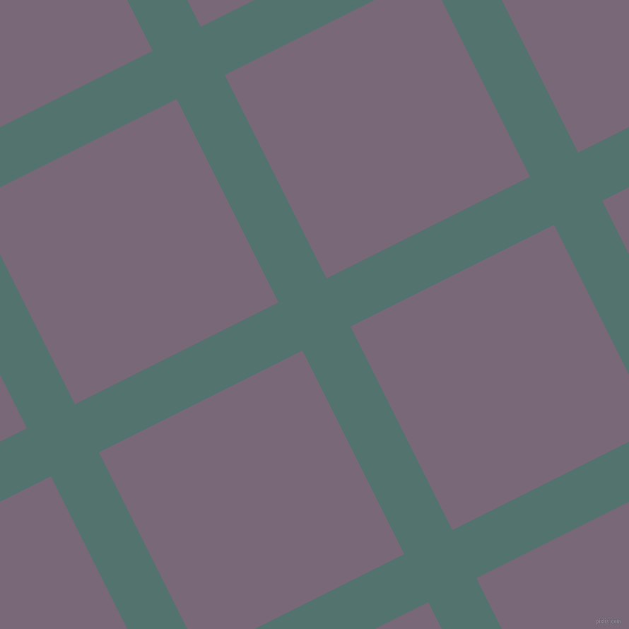 27/117 degree angle diagonal checkered chequered lines, 76 pixel line width, 322 pixel square size, plaid checkered seamless tileable