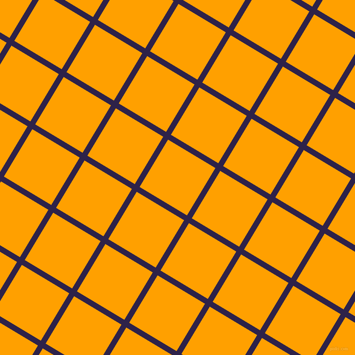 59/149 degree angle diagonal checkered chequered lines, 11 pixel line width, 108 pixel square size, plaid checkered seamless tileable