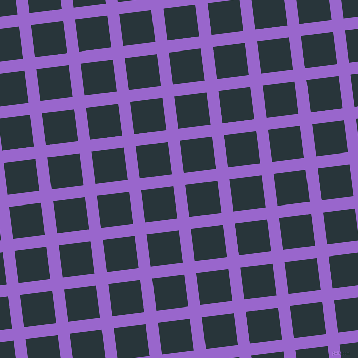 7/97 degree angle diagonal checkered chequered lines, 24 pixel lines width, 64 pixel square size, plaid checkered seamless tileable