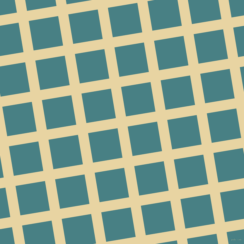 9/99 degree angle diagonal checkered chequered lines, 35 pixel lines width, 102 pixel square size, plaid checkered seamless tileable