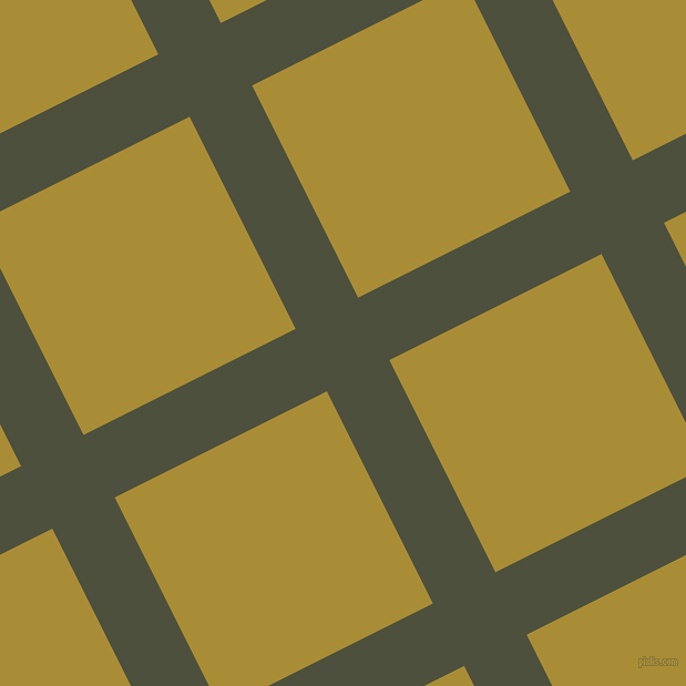 27/117 degree angle diagonal checkered chequered lines, 63 pixel lines width, 214 pixel square size, plaid checkered seamless tileable