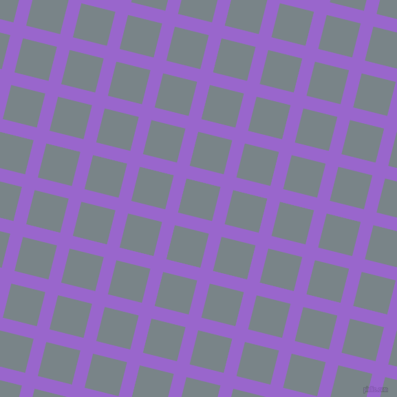 76/166 degree angle diagonal checkered chequered lines, 19 pixel lines width, 51 pixel square size, plaid checkered seamless tileable
