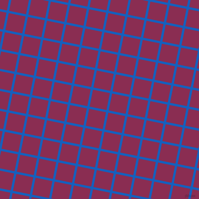 79/169 degree angle diagonal checkered chequered lines, 8 pixel line width, 60 pixel square size, plaid checkered seamless tileable