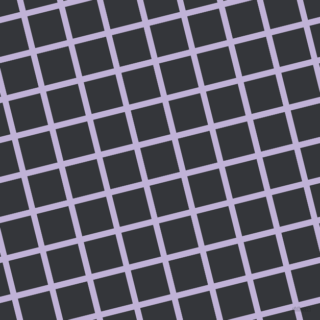 14/104 degree angle diagonal checkered chequered lines, 12 pixel lines width, 64 pixel square size, plaid checkered seamless tileable