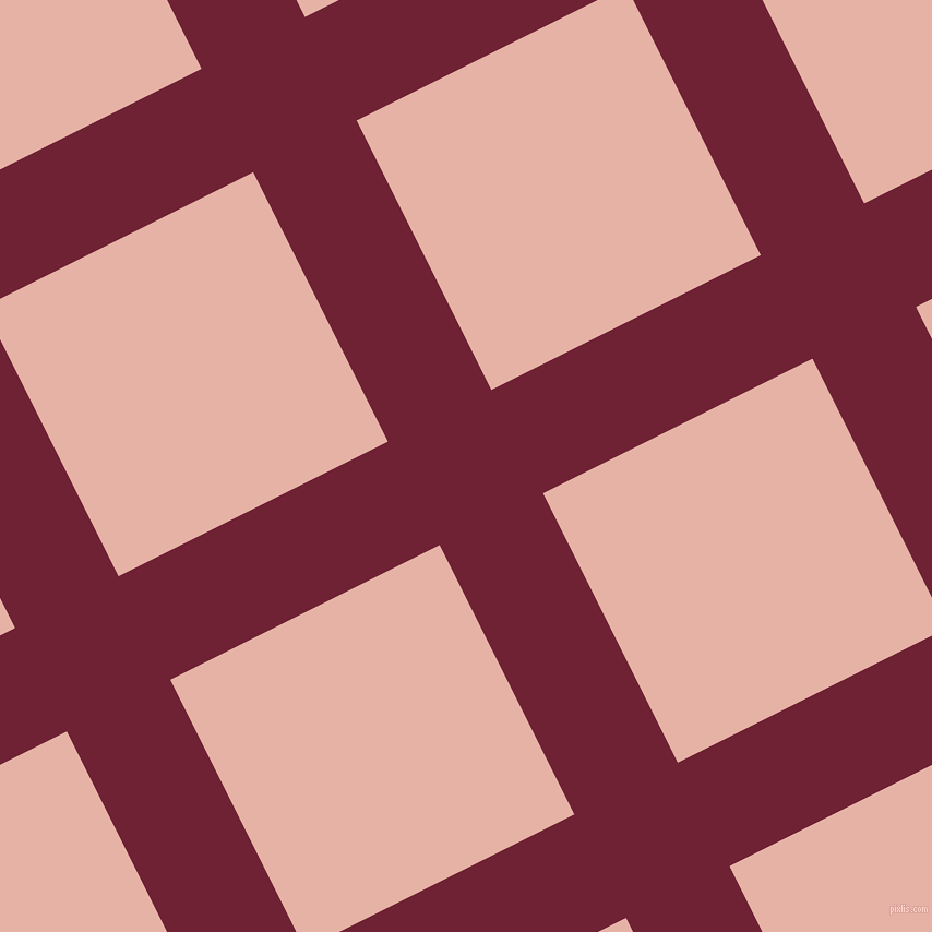 27/117 degree angle diagonal checkered chequered lines, 106 pixel lines width, 276 pixel square size, plaid checkered seamless tileable