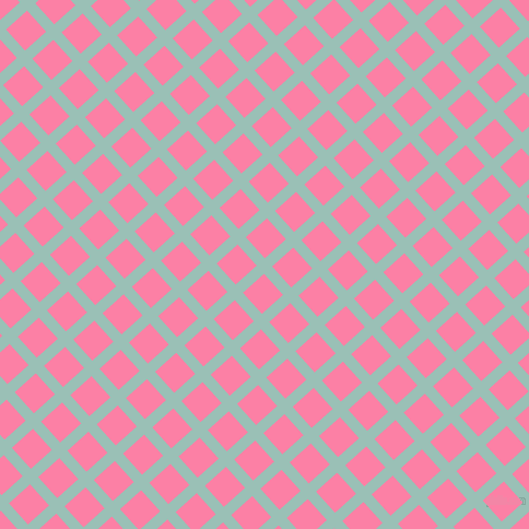 42/132 degree angle diagonal checkered chequered lines, 10 pixel line width, 26 pixel square size, plaid checkered seamless tileable