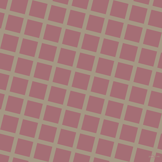 76/166 degree angle diagonal checkered chequered lines, 13 pixel lines width, 50 pixel square size, plaid checkered seamless tileable