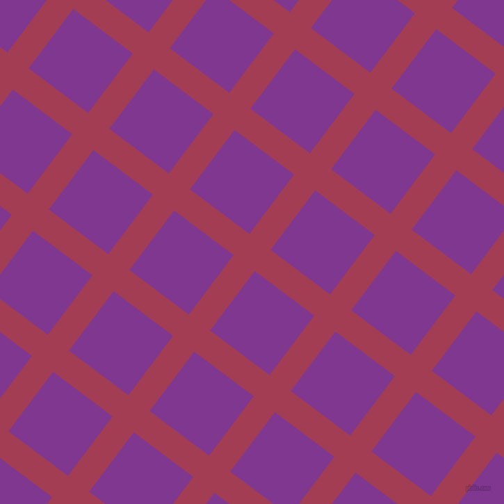 53/143 degree angle diagonal checkered chequered lines, 38 pixel line width, 107 pixel square size, plaid checkered seamless tileable