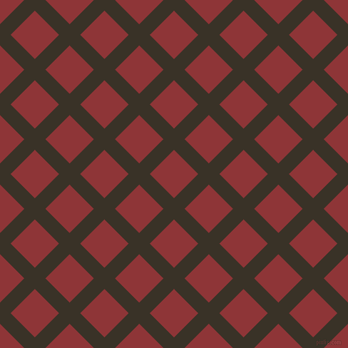 45/135 degree angle diagonal checkered chequered lines, 21 pixel line width, 48 pixel square size, plaid checkered seamless tileable