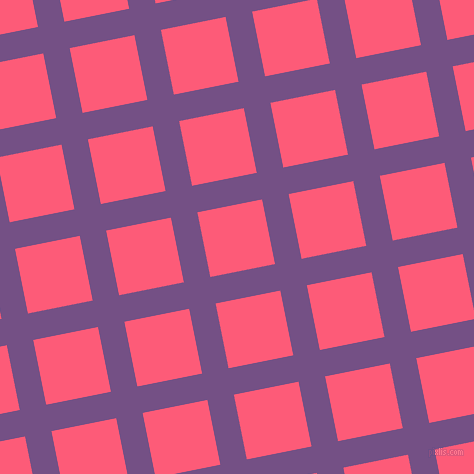 11/101 degree angle diagonal checkered chequered lines, 27 pixel lines width, 66 pixel square size, Affair and Wild Watermelon plaid checkered seamless tileable
