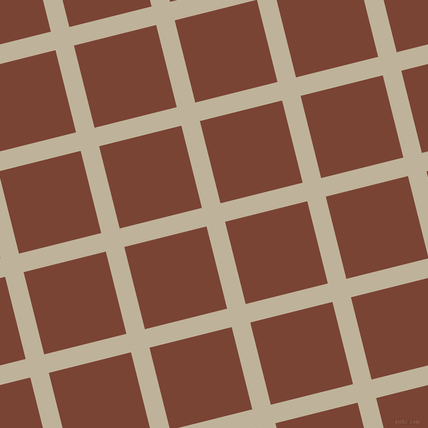 14/104 degree angle diagonal checkered chequered lines, 27 pixel line width, 120 pixel square size, Akaroa and Peanut plaid checkered seamless tileable